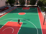 継ぎ目が無い紫外線抵抗の屋外のバスケットボールコートの表面