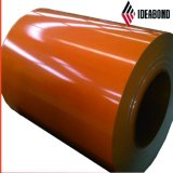 China Abuilding Ideabond fabricante de materiales de revestimiento de PVDF BOBINA DE ALUMINIO