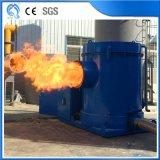 24hrs che esegue il bruciatore industriale della segatura per l'impianto di miscelazione dell'asfalto