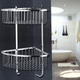 De sanitaire Staven van de Handdoek van de Mand van de Badkamers van het Roestvrij staal van Waren Dubbele
