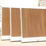 Casa de aves de capoeira e de gases com efeito de almofada de resfriamento evaporativo