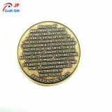 Moneda de prueba modificada para requisitos particulares del oro de la antigüedad de la alta calidad para el recuerdo