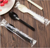 Colher de sopa plástica descartável Stackable da colher de 4.5 PP do grama