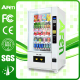 Máquina expendedora de agua embotellada operada con monedas con reproductor de LCD