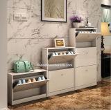 تخزين ردهة خزانة 3 طبقة خشبيّة حذاء خزانة/حذاء [أرك]
