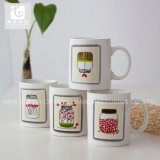 12oz nuevo hueso Taza de Té de China Coffee Cup copa de leche con logo Imprimir