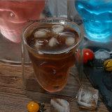 Kreatives doppeltes Schädel-Cup für Wein, Getränk, Wasser-Speicher