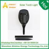 La luz de linterna solar al aire libre de la pared de ahorro de energía iluminación LED lámpara solar