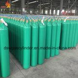 Cylindre de gaz CO2 avec la couleur verte