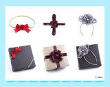 Индивидуальные подарки наматывается дуг полиэстер Satin эластичные ленты с ленты