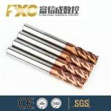Fxc OEM HRC45/55/60/65 높은 경도 단단한 탄화물 35 도 사각 편평한 끝 선반