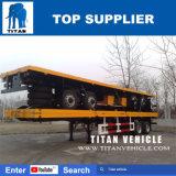 Titan 2 essieux avec remorque à plat à bogies Suspension