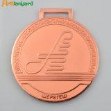 金カラーの安い顧客デザイン金属メダル