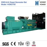 2500kVA de diesel Reeks van de Generator met Googol Motor 50Hz