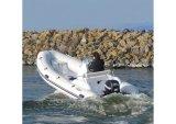 Bateau de pêche gonflable de bateau/fibre de verre d'Aqualand 16feet 4.7m/Rigid (RIB470c)