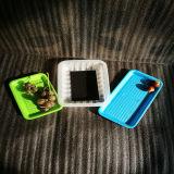 Cassetto a gettare colorato di PLA del commestibile per frutta e carne