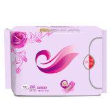 Serviette hygiénique de coton absorbant pour l'usage de jour de dames
