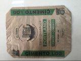 Sac de papier de Brown/sac tissé par Bag/PP de la colle