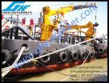 Кран 8t 12t постамента телескопичного заграждения морской