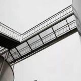 Rejilla de acero galvanizado para piso de la estructura de acero