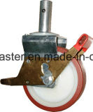 Europa Type Adjustable Scaffolding Caster mit Brake