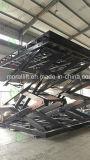 Van de het gebruiks hydraulische schaar van het huis de autolift met het draaien van platform