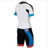 Cooldry Short Sleeve Compression Tight fato de ciclismo para homens