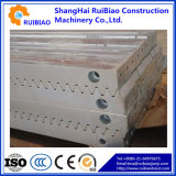 Estante y piñón compatibles para el alzamiento de la construcción