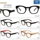 Occhiali unici Eyewear dell'iniezione degli occhiali del telaio dell'ottica di modo dell'occhio di gatto i nuovi con la cerniera della molla per la fabbrica delle donne direttamente assicurano un'opzione di 4 colori