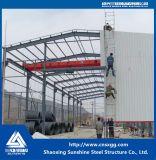 Здание стальной структуры хозяйственного света с стальной рамкой от Китая