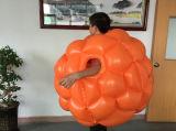 0,9 м ПВХ надувной мяч Zorb тела, бампер мяч для детей купол футбол купол футбола купол шарик костюм для детей