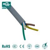 4 Core 6mm Cabo Flexível/Cabo flexível de 6 núcleos/cabo da Fase 3