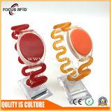 Bracelet d'IDENTIFICATION RF de silicium de charme avec la puce de MIFARE /Em