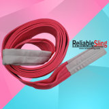 Imbracatura tessuta piana di sollevamento resistente della tessitura del poliestere