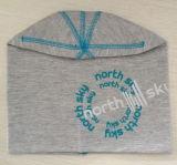 Normal gris moda promocional Jessery sombrero con la impresión de color azul
