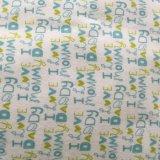 숙녀 잠옷을%s 100%Cotton Flannel에 의하여 인쇄되는 직물