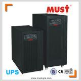 Articles purs de sinus zéro UPS en ligne de pointe du temps 6kVA 10kVA 15kVA 20kVA de Transfter