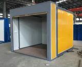 5分にアセンブルされる店によって使用される折る容器の家
