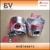 4D95L 4D95S S4d95L 4D95 Kit de camisa do cilindro do anel do pistão para Komatsu das peças do motor