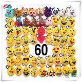 """Emoji-Schioccare le decorazioni Pendant 2 di Keychain dell'anello chiave dell'automobile di favori dei rifornimenti del partito di Keychain Emoji del cuscino della peluche """""""