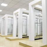 Традиционная панель & бортовая панель типа 2 x встроенная прикрепили на петлях комнату ливня двери ливня