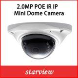 2.0MP Mini IP de red domo de infrarrojos impermeable CCTV Cámaras de seguridad