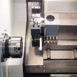 Alto tornio inclinato di CNC della base di velocità Ck-36L dell'asse di rotazione