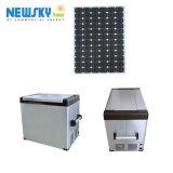 Refrigerador do OEM 70L Acdc 12/24V&AC100-240V/congelador portáteis solares Br70AC4 do carro