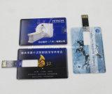 Estilo de cartão Flash de formato de cartão de crédito cartão USB promocional