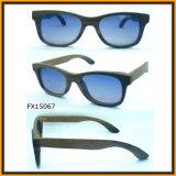 Eyeglass de madeira dos óculos de sol unisex com FDA&Ce (FX15067)