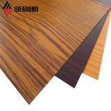 Composite Aluminum Material with Wooden Finish