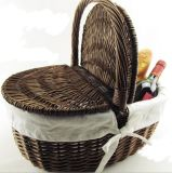 (BC-ST1087) Eco-Friendly를 가진 고품질 Handmade 버드나무 Pinic 바구니