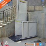 Подъемы дома кресло-коляскы платформы пасспорта вертикальные с высоким качеством