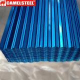precio de fábrica de acero galvanizado Pre-Painted Hoja de techos en onda